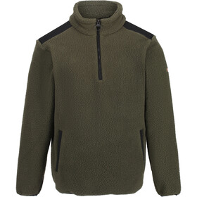 Regatta Colman Sweat À Capuche En Polaire Homme, dark khaki/black